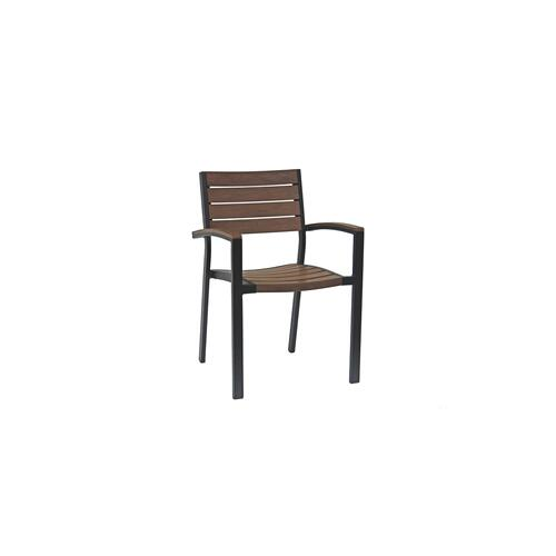 Ratana - New Mirage Stacking Arm Chair