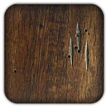 Product Image - 6 x 4 Walnut Wood Sample (WS-R)