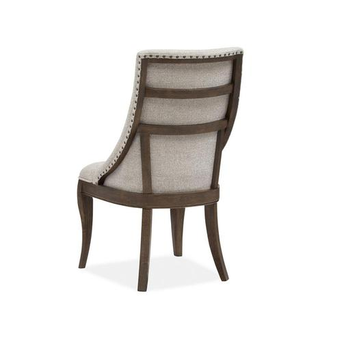 Dining Arm Chair w/Upholstered Seat & Back (2/ctn)
