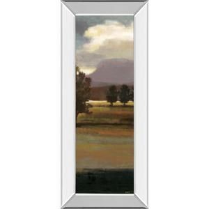 """""""Mountain Range III"""" By Norman Wyatt, Jr. Mirror Framed Print Wall Art"""