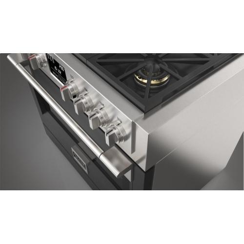 """36"""" Dual Fuel Pro Range - Matte Black"""