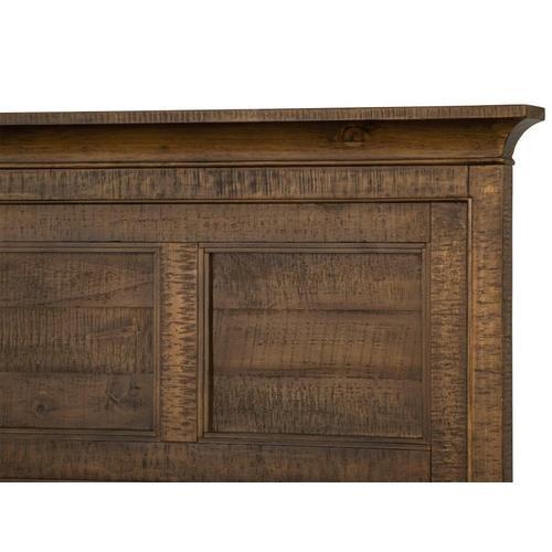 Magnussen Home - Complete Queen Panel Bed with Regular Rails