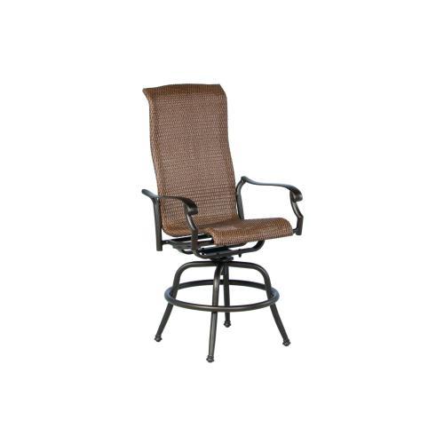 Naples Gathering Swivel Arm Chair