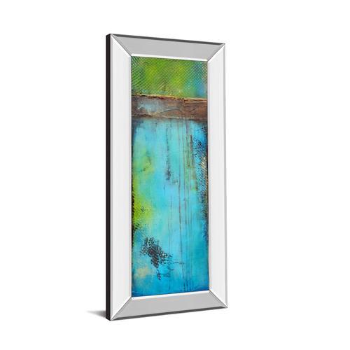 """""""Fisher Island Il"""" By Erin Ashley Mirror Framed Print Wall Art"""