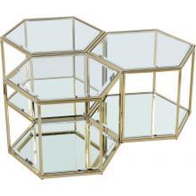 "Sei Modular 3 Piece Coffee Table - 40"" W x 40"" D x 16.5"" H"