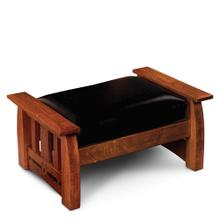 See Details - Aspen Ottoman with Inlay, Fabric Cushions