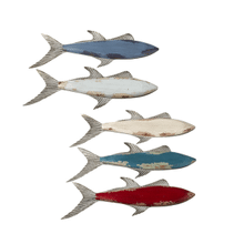 Large Fish Wall Decor (5 asstd)