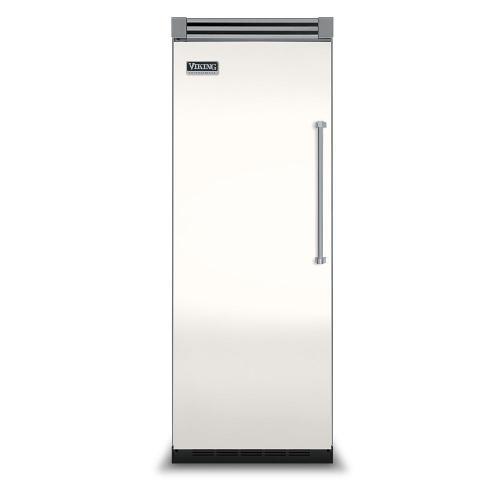"Viking - Cotton White 30"" Quiet Cool™ All Refrigerator - VIRB Tru-Flush™ (Left Hinge Door)"