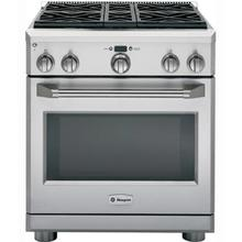 "30"" Dual-Fuel Professional Range with 4 Burners"