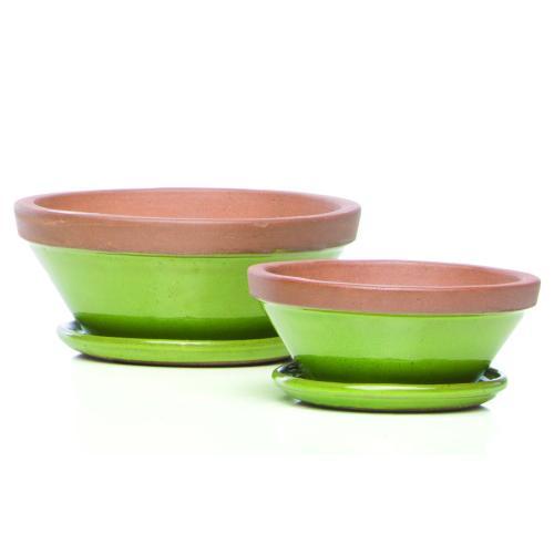 Beatrix Bowl w/ saucer, Sage S/2 4 sets/ctn