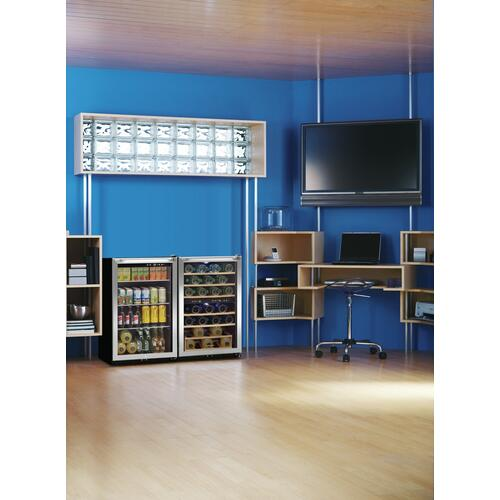 Scratch & Dent  Frigidaire 38 Bottle Two-Zone Wine Cooler