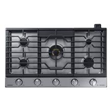 """See Details - 36"""" Chef Collection Gas Cooktop with 22K BTU Dual Power Burner in Stainless Steel"""