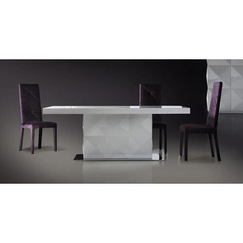 Versus Eva - White Lacquer Modern Dining Table