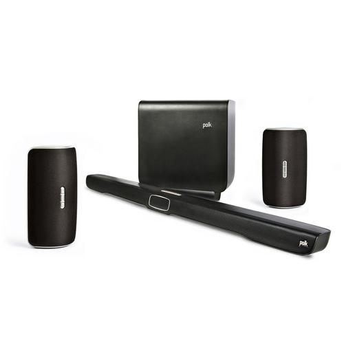 Premium Home Theater Sound Bar with Wireless Subwoofer & Wi-Fi / Bluetooth Music Streaming