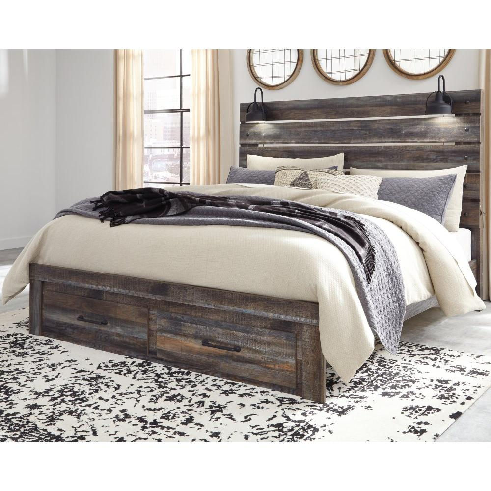 Product Image - Drystan King Panel Bed With Storage