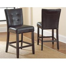 Monarch Counter Parsons Chair - Black