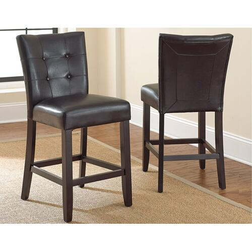 Monarch Counter Parsons Chair - Black