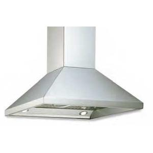 """Stainless Steel 16""""H. Chimney Island Hood Duct Cover (8' Ceilings)"""