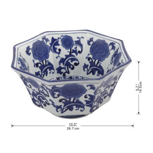 A & B Home - Decorative Bowl