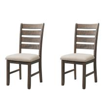 Jax Ladder Back Side Chair Set