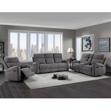 See Details - Crawford 3-Piece Manual Motion Set (Sofa, Loveseat & Chair)