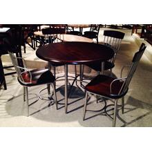 See Details - Sterling / Cherry Dinette Chair