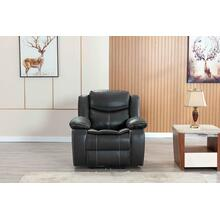 8006 GRAY Air Leather Power Recliner w/ USB Chair