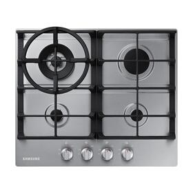 """24"""" Gas Cooktop in Stainless Steel"""