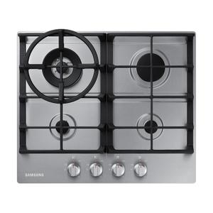 """Samsung24"""" Gas Cooktop in Stainless Steel"""