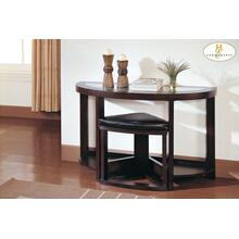 See Details - Console Table with Stool