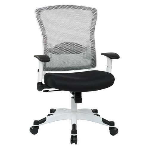 White Frame Managers Chair