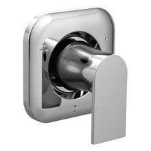 Genta Chrome transfer valve trim