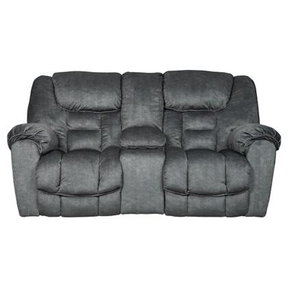 See Details - Capehorn Reclining Loveseat With Console