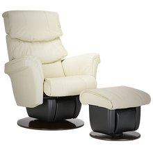 The Melbourne glider is part of the AvantGlide collection and features outward tapered armrests