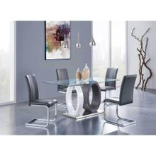 D1628DT W/D915DC GREY DINING SET