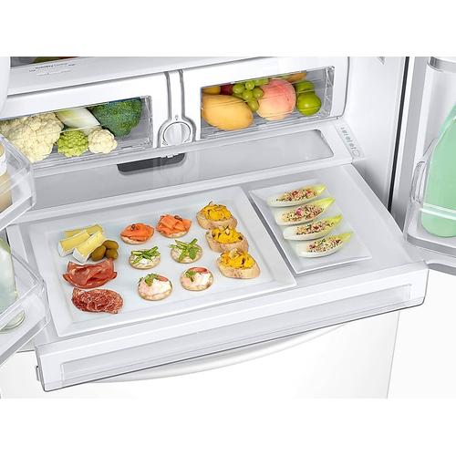 26 cu. ft. 3-Door French Door Refrigerator with CoolSelect Pantry™ in White