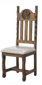 Dining Chair W/Rope&Star Cushion Seat