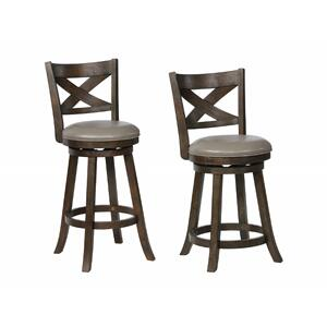 Kipper Swivel Bar Stool Grey K/d