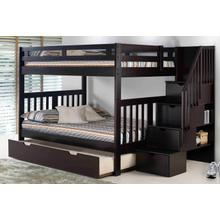 Roma Bunk With Staircase With Trundle