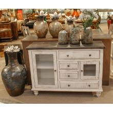 See Details - Terra Gray Accent Cabinet SAMPLE