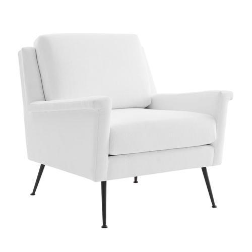 Modway - Chesapeake Fabric Armchair in Black White