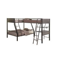See Details - Triple Twin / Twin Corner Bunk with Built in Desk