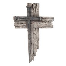 Nail Cross Plaque