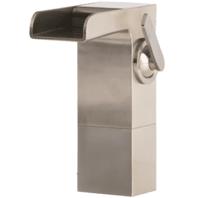 Kascade Vessel Lav Faucet Medium Brushed Nickel