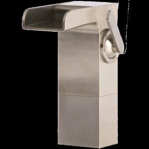 Kascade Vessel Lav Faucet Medium Brushed Nickel Product Image