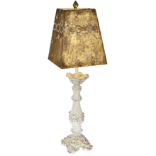 Carved Pillar Table Lamp. 60W Max. (CB173227) (4 pc. assortment)
