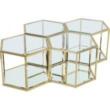 "Sei Modular 4 Piece Coffee Table - 40"" W x 58"" D x 16.5"" H"