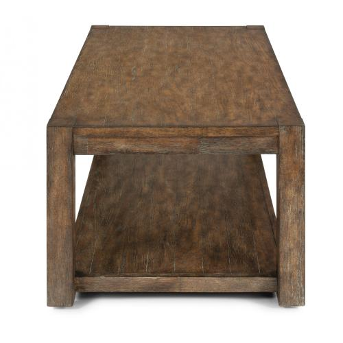 Boulder Rectangular Coffee Table with Casters