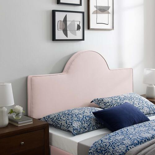 Dawn Full/Queen Performance Velvet Headboard in Pink