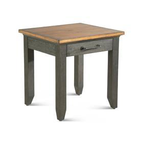 Bear Creek Brown End Table
